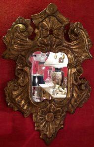 piccola specchiera XIX secolo