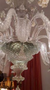 lampadario murano